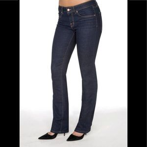J Brand Women Cigarette Leg Dark Wash Jeans Size 2